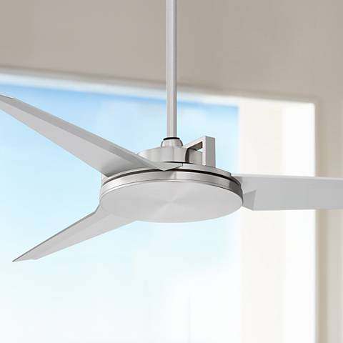 "52"" Cyber II™ Brushed Steel Ceiling Fan"