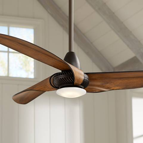 56 Quot Sleuth Oil Rubbed Bronze Led Ceiling Fan 13x20