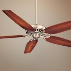"72"" Minka Great Room Brushed Nickel Ceiling Fan"