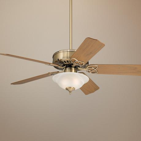 "52"" Casa Vieja Lexington™ Ceiling Fan with Light Kit"