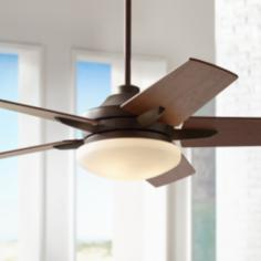 "52"" Casa Endeavor™ Oil Rubbed Bronze Ceiling Fan"
