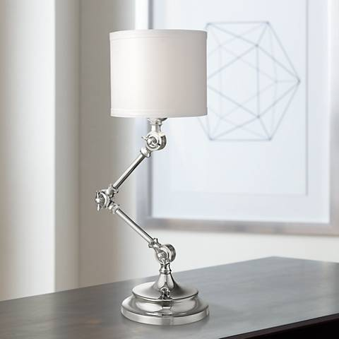 "Dale Tiffany Arundel 17 1/2""H Bi-Fold Adjustable Desk Lamp"