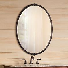 Oval Wall Mirror oval, mirrors | lamps plus
