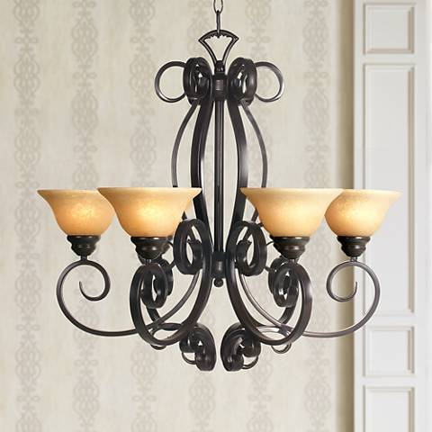San Dimas Collection Six Light Chandelier