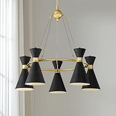 George Kovacs Conic 26 Wide Honey Gold Chandelier