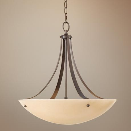 "Kinsey Collection 22"" Wide Pendant Chandelier"