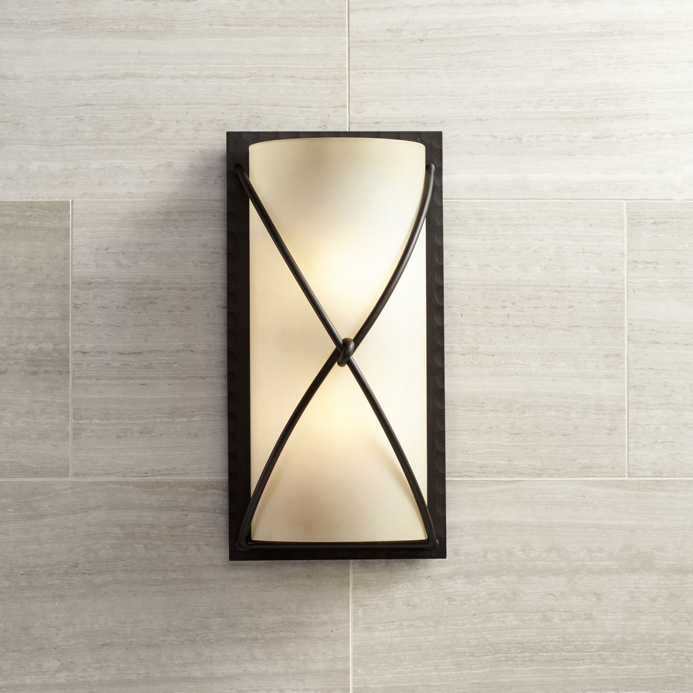 Minka Knotted Iron 18 1/2  High Wall Sconce & Minka Lavery Bathroom Lighting | Lamps Plus azcodes.com