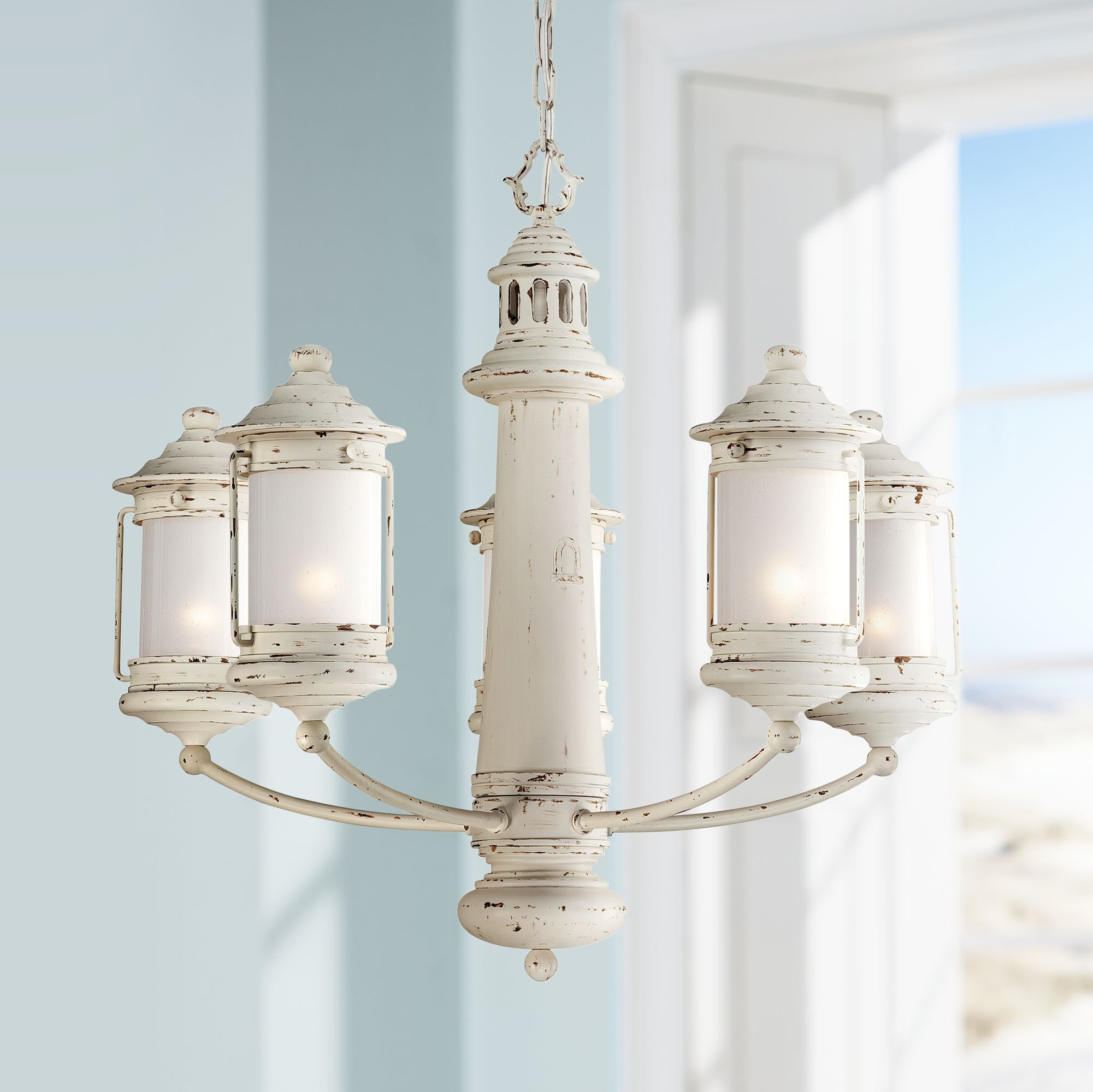 Coastal Chandeliers Latest Coastal Home Seashells By The Decor