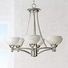 Kathy Ireland 29 Wide Deco Scale Chandelier