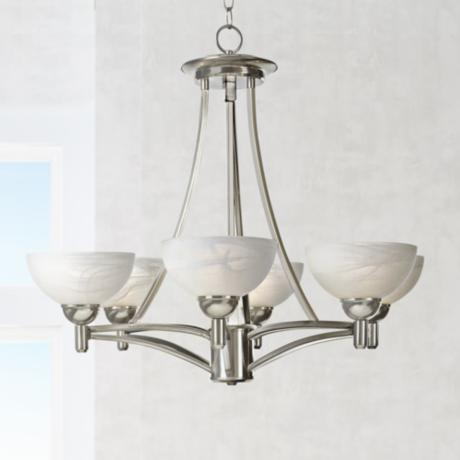 Kathy Ireland Deco Scale Chandelier