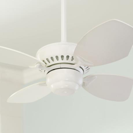 "28"" Colony II White Finish Ceiling Fan"