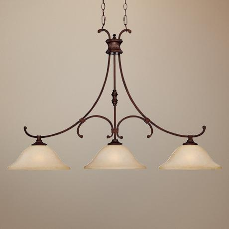 "Hill House Collection Burnished Bronze 45"" Wide Chandelier"