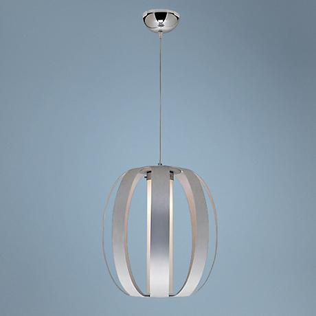 "Helix Collection Single 13 1/4"" Wide Pendant Chandelier"