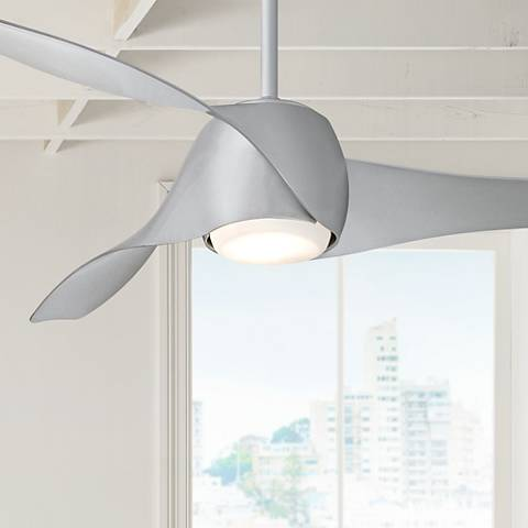 "58"" Artemis Silver LED Ceiling Fan"