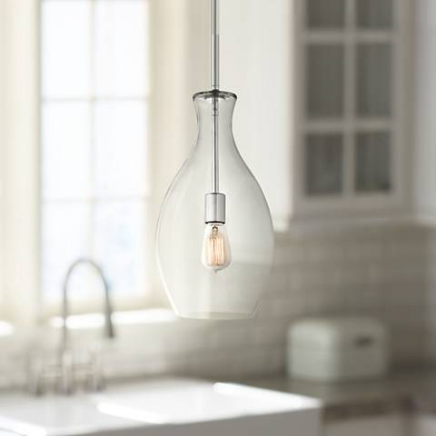 "Kichler Beckett Everly 8 3/4"" Wide Glass Mini Pendant"