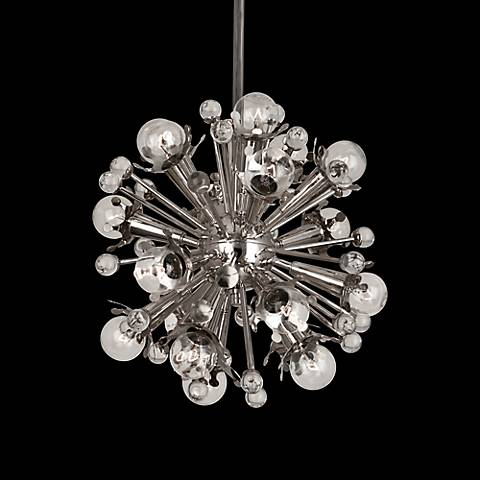Jonathan Adler Sputnik 18-Light Nickel Pendant Light