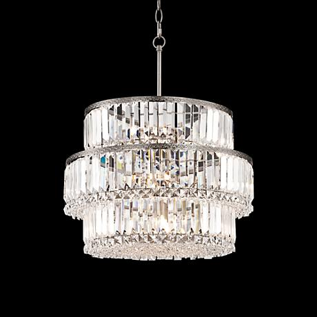 "Rochelle 20 1/2"" Wide Halogen Light Crystal Chandelier"