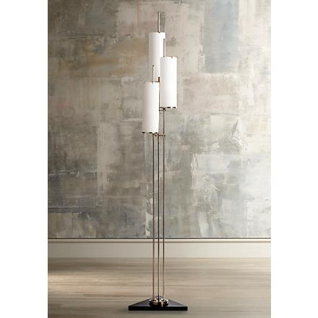 Arteriors Home Stefan Silver 3 Light Floor Torchiere Lamp