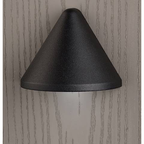 "Kichler Fundamentals 3 1/4""W Black 3000K LED Deck Light"