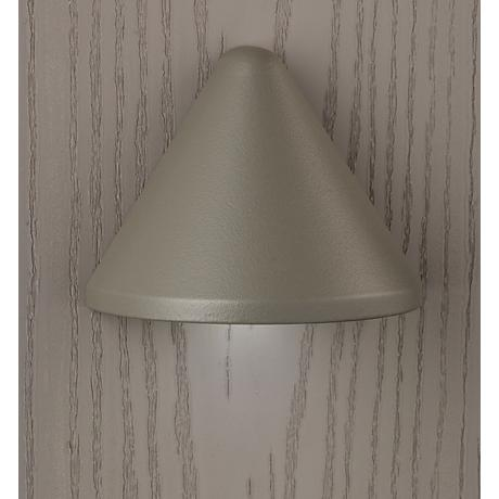 "Kichler Fundamentals 3 1/4""W Gray 3000K LED Deck Light"