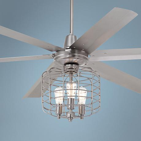 "60"" Turbina Max™ Industrial Cage Steel Ceiling Fan"