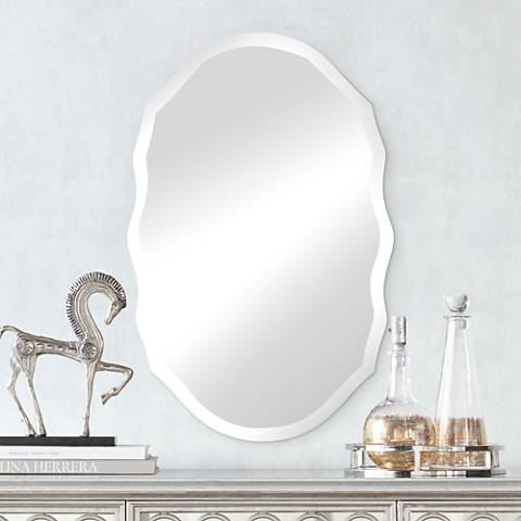 "Isabella 19 1/2"" x 29 1/2"" Beveled Wall Mirror"