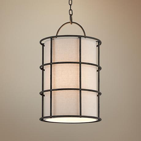 "Haven 14 1/2"" Wide Liberty Rust Pendant Light"