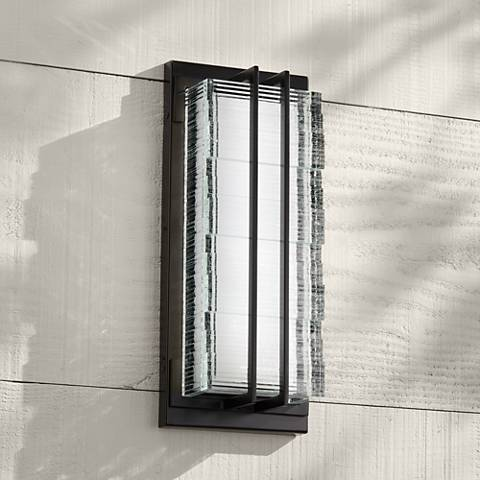 "Possini Euro Design Verdugo 16""-H LED Outdoor Light"