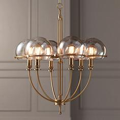 Medium 23 30 in wide entryway chandeliers page 2 for Possini lighting website