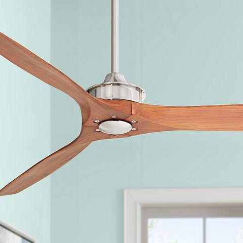 "52"" Windspun Walnut - Nickel DC Ceiling Fan"