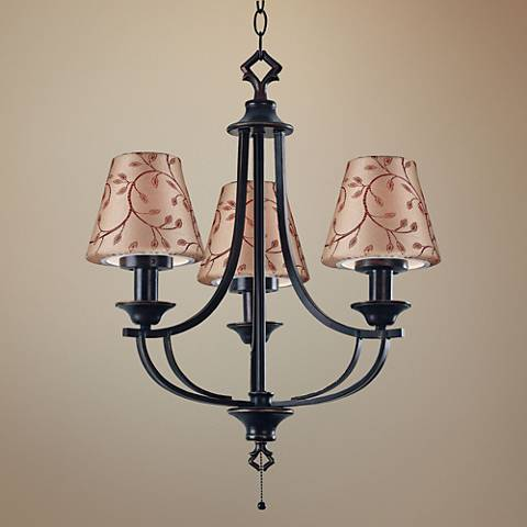 "Belmont 21"" Wide Oil Rubbed Bronze Outdoor Chandelier"