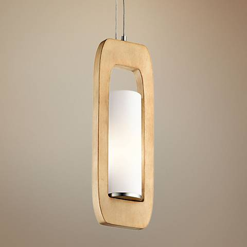 "Kichler Passport 5 1/2"" Wide Brushed Nickel Mini Pendant"