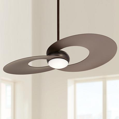 "52"" Innovation™ Oil-Rubbed Bronze LED Ceiling Fan"