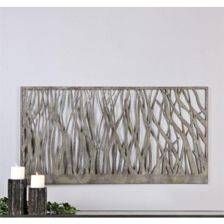 Metal Wall Art Lamps Plus : Uttermost Amadahy 60