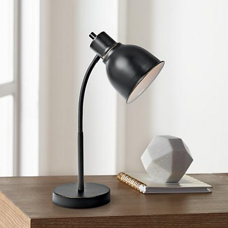 Lite Source Galvin Dark Bronze Task Desk Lamp