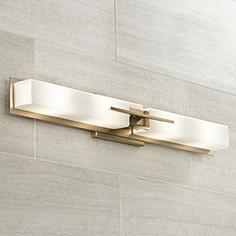 Bathroom Vanity Lights Brass brass bathroom lighting & vanity lights | lamps plus