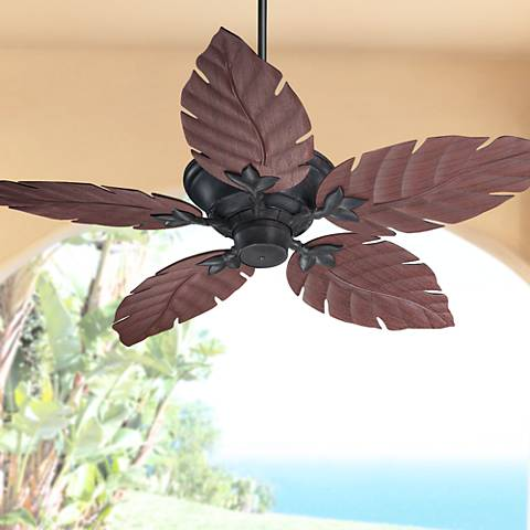 "52"" Quorum Monaco Toasted Sienna Patio Ceiling Fan"