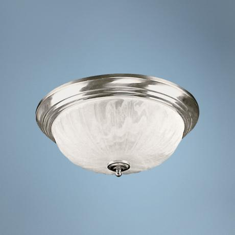 "Melon Collection 13"" Wide Flushmount Ceiling Light Fixture"