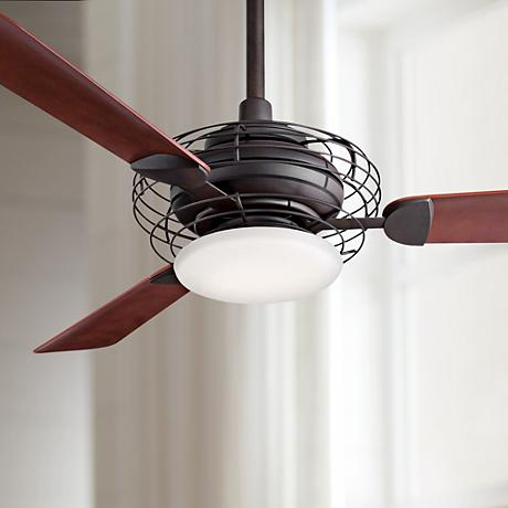 "52"" Minka Aire Acero Bronze Finish Ceiling Fan"