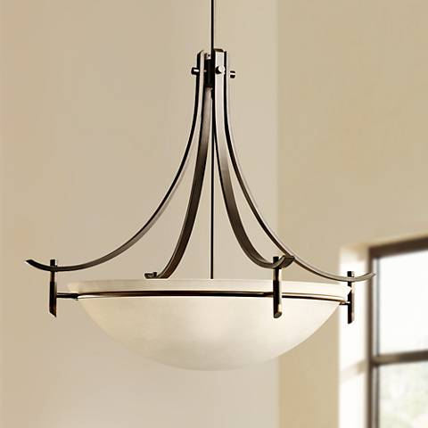 "Olympia Collection Olde Bronze 36"" Wide Pendant Light"