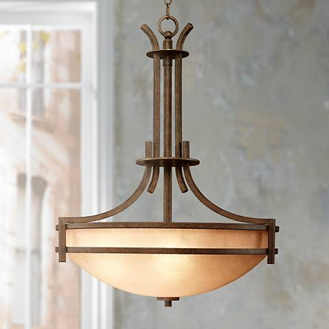 Oak Valley Five Light Pendant Chandelier
