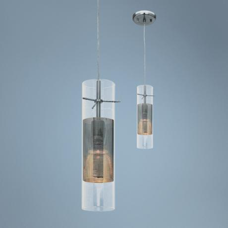 Spartan Series Brushed Steel Pendant Chandelier