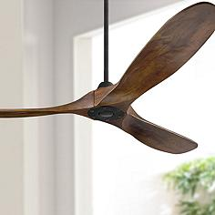 60 Monte Carlo Maverick Matte Black Ceiling Fan