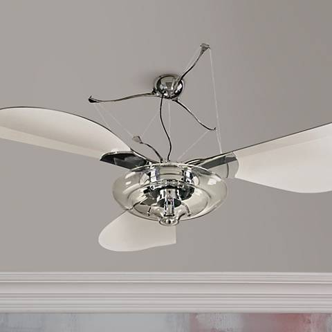 58 quorum jellyfish chrome ceiling fan with light kit 23697 58 quorum jellyfish chrome ceiling fan with light kit mozeypictures Gallery