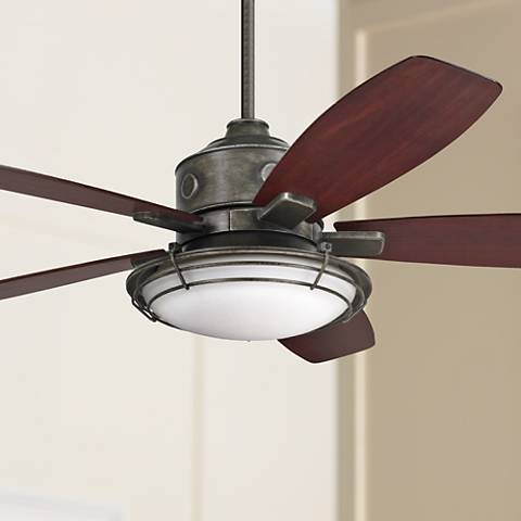 "54"" Emerson Rockpointe Vintage Steel Ceiling Fan"