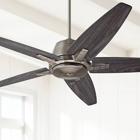 "56"" Emerson Euclid Antique Pewter Ceiling Fan"