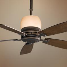 "54"" Fanimation Hubbardton Forge Standard Uplight Ceiling Fan"