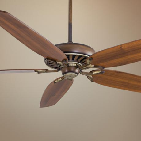 "72"" Great Room Traditional Belcaro Walnut Ceiling Fan"