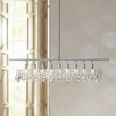 James R. Moder Broadway Collection Crystal Bar Chandelier - #25679 ...