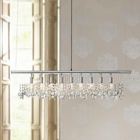 James R. Moder Broadway Collection Crystal Bar Chandelier